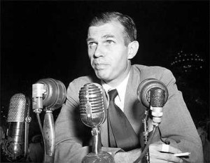 Alger Hiss at the CrossFit breath-holding competition.