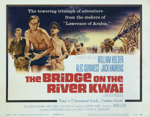 The Bridge On The River Kwai (1957).