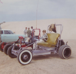 A dune buggy