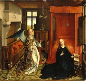 Rogier van der Weyden (1399-1464), The Annunciation: